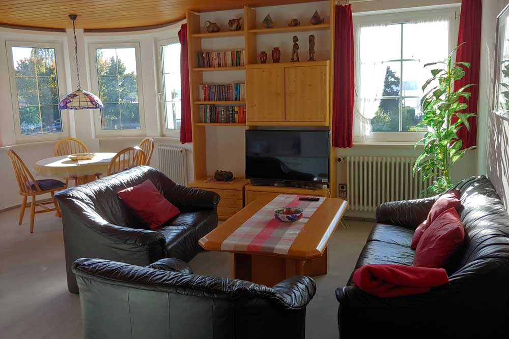 Holiday Apartment, Hof Geiger, Bodensee, Lake Constance, Living Room